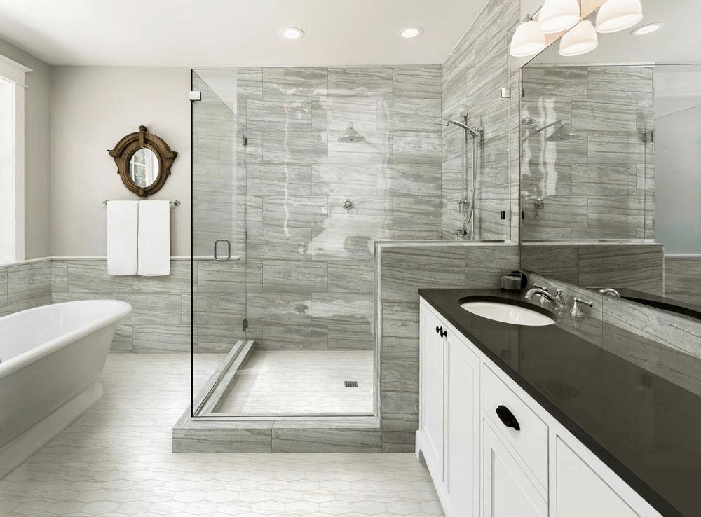 Bathroom Ceramic Floor Tile Ideas  40 Free Shower Tile Ideas Tips For Choosing Tile