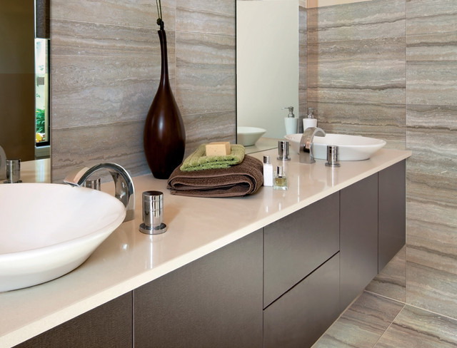 Bathroom Ceramic Floor Tile Ideas  Ceramic & Porcelain Tile ideas Contemporary Bathroom