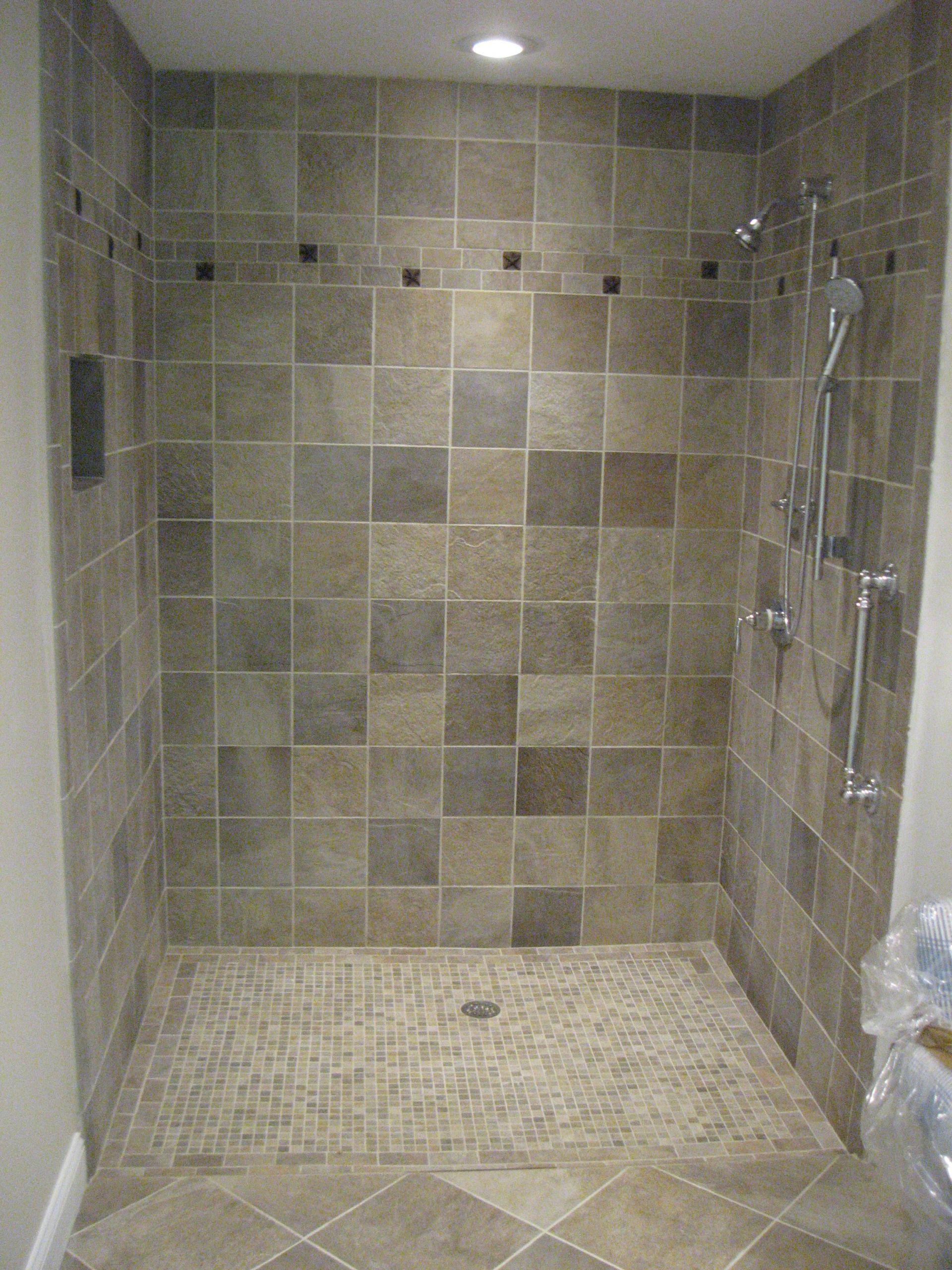 Bathroom Ceramic Floor Tile Ideas  Bathroom Design Most Luxurious Bath With Shower Tile