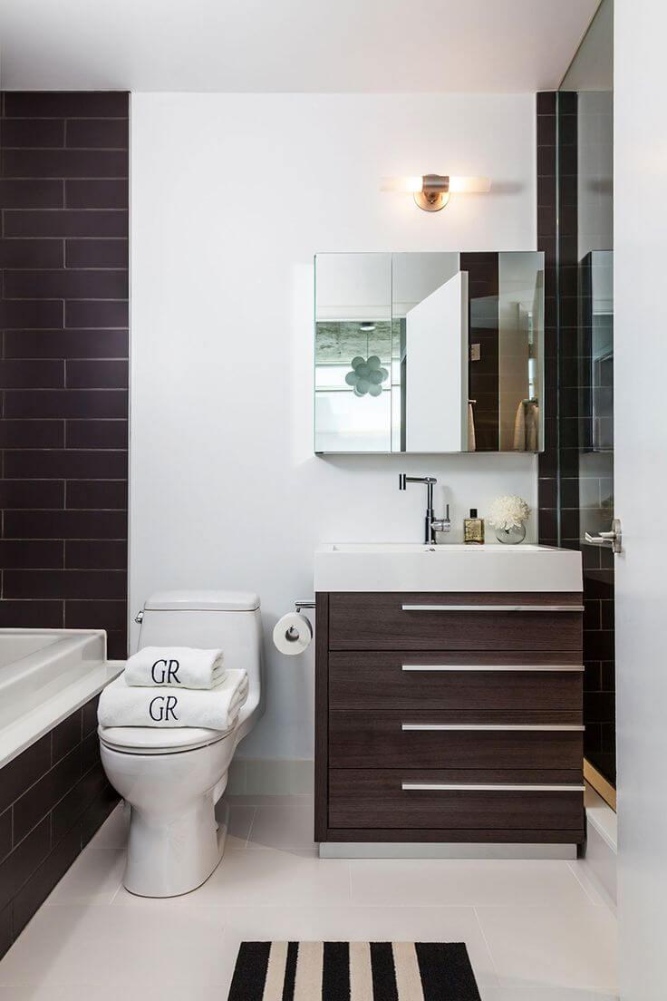 Bathroom Designs Small  15 Space Saving Tips for Modern Small Bathroom Interior