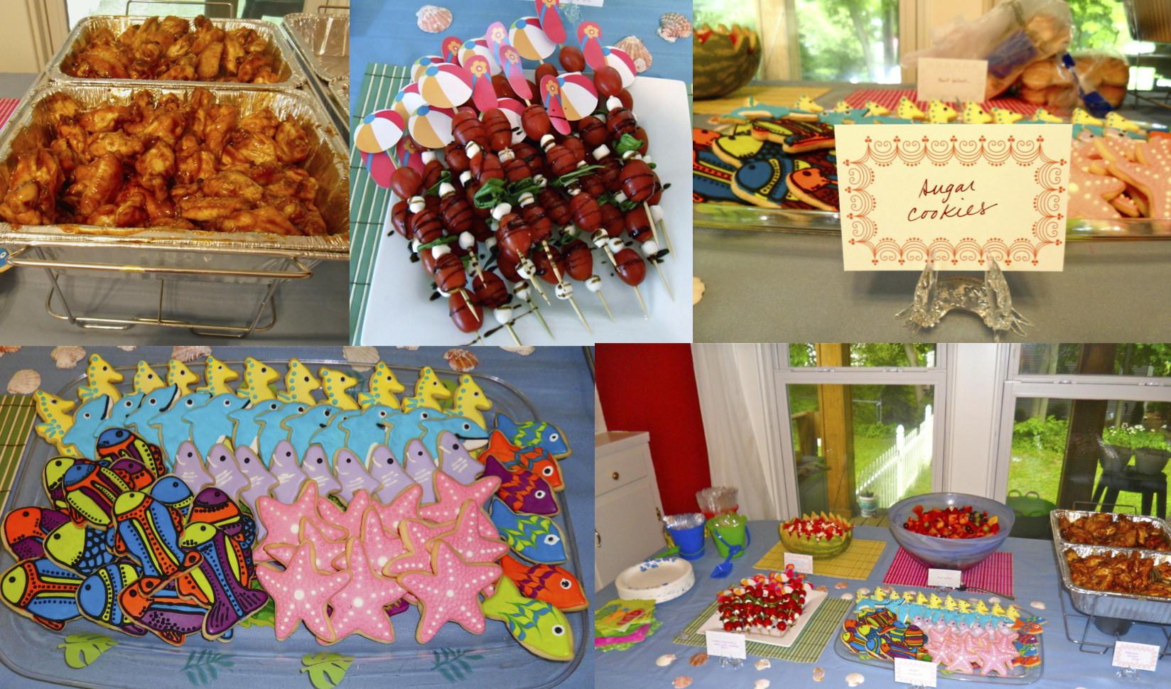 Beach Food Ideas For Party  Beach Bash Party