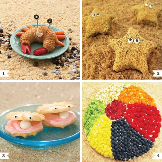 Beach Food Ideas For Party  Beach party food ideas