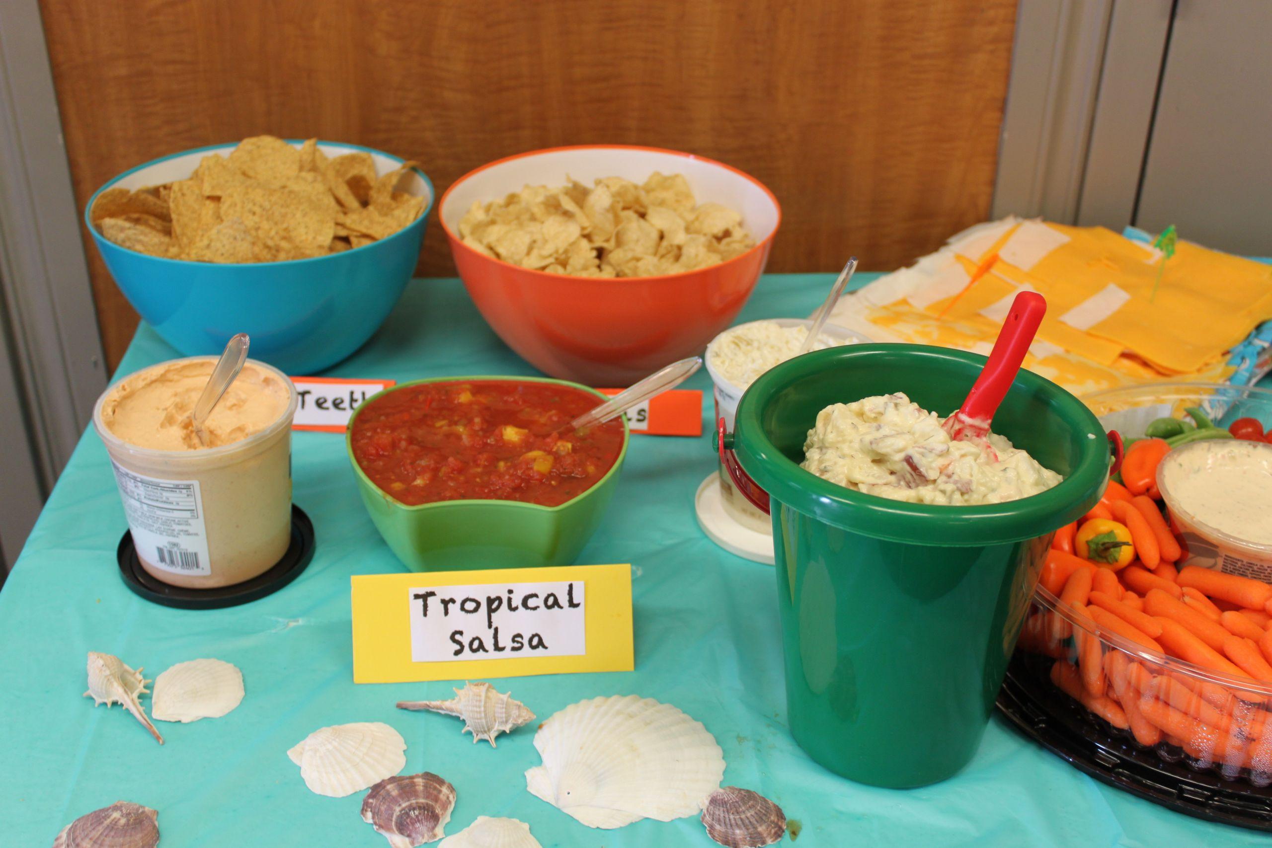 Beach Food Ideas For Party  Beach Party