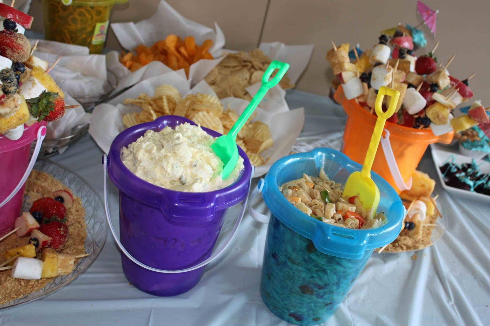 Beach Food Ideas For Party  Beach Party Theme Food Ideas