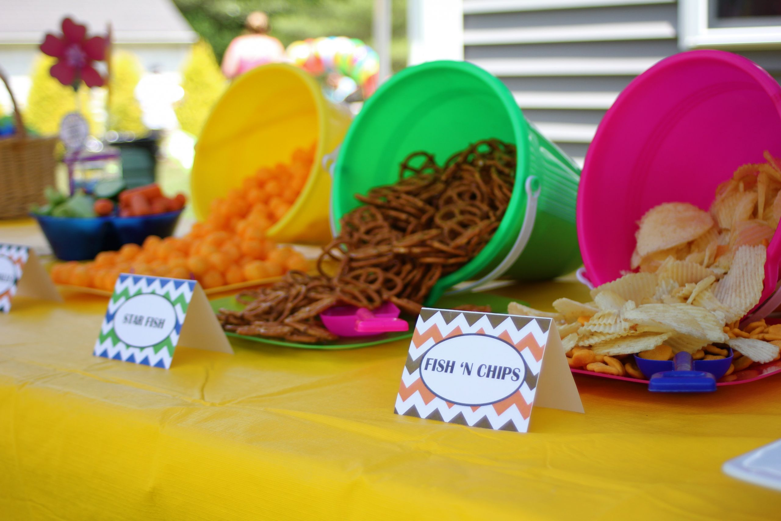 Beach Food Ideas For Party  Beach Birthday Party Extravaganza