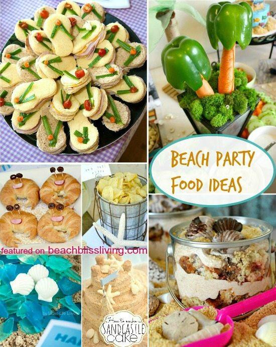 Beach Food Ideas For Party  Fun & Creative Beach Party Food Ideas Beach Bliss Living