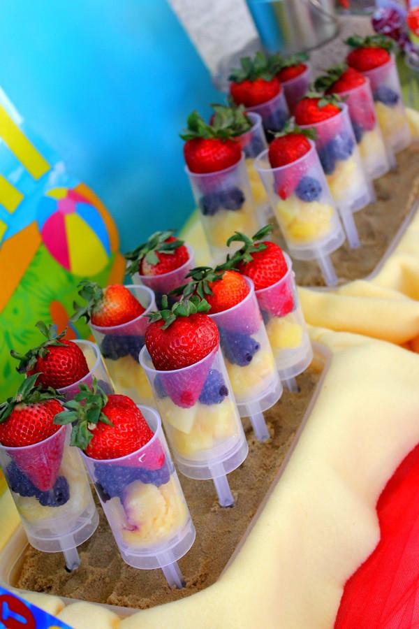 Beach Food Ideas For Party  Kara s Party Ideas Beach Ball Birthday Party Supplies