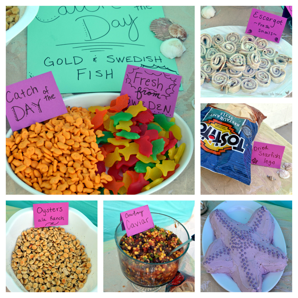 Beach Food Ideas For Party  Beach Birthday Party — Bless this Mess