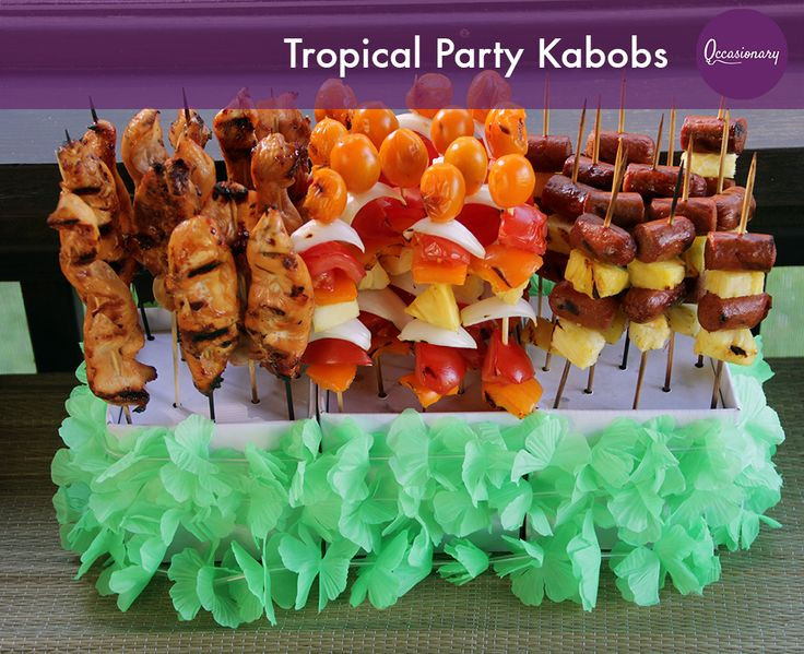 Beach Food Ideas For Party  Ideas to Make Your Beach Themed Bar or Bat Mitzvah a