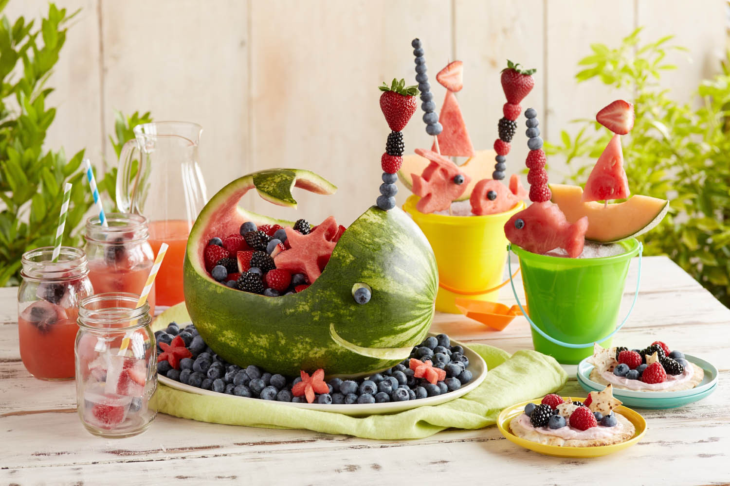 Beach Food Ideas For Party  Splash into Summer with a Berry Beach Party
