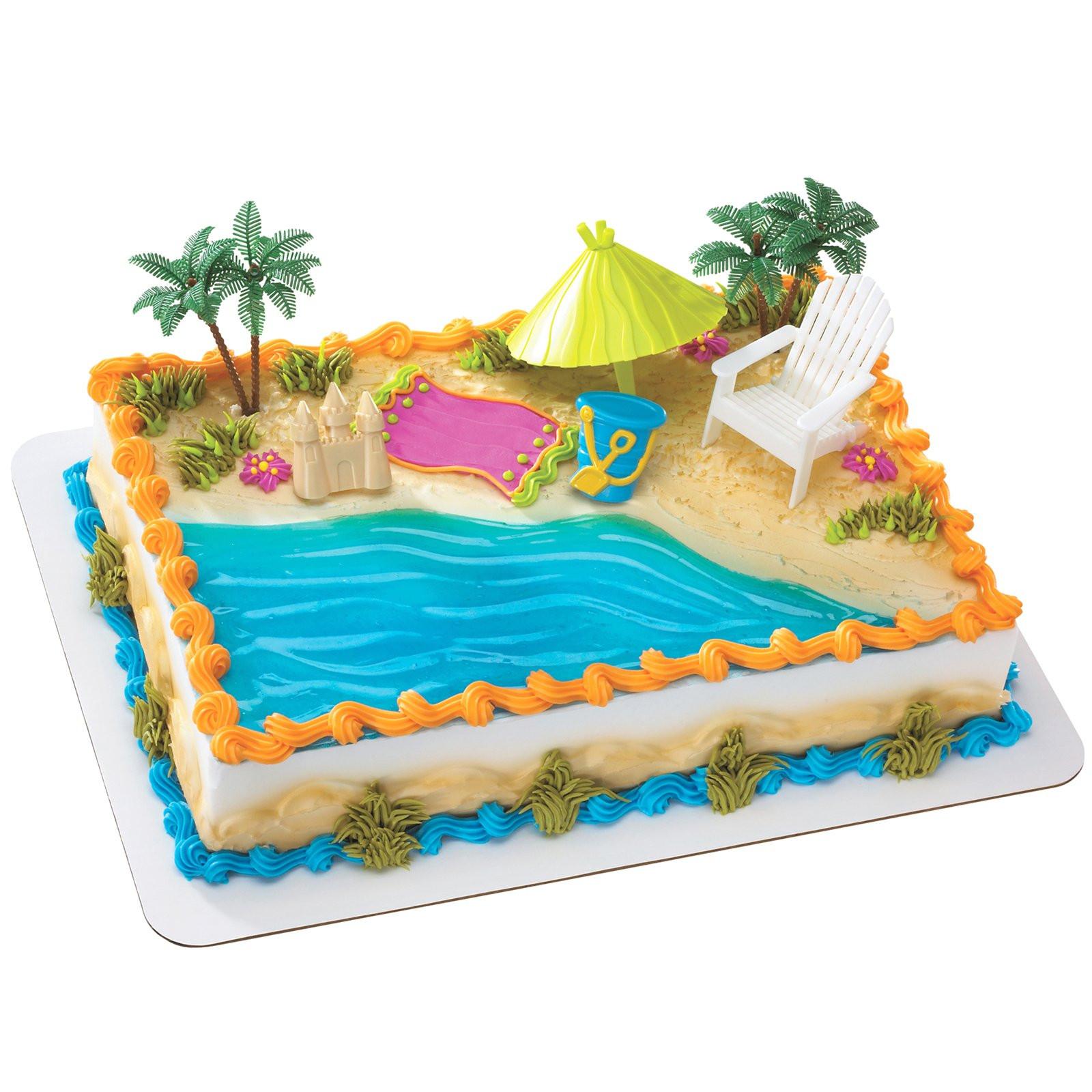 Beach Theme Birthday Cake  Celebrate Summer Birthdays with Birthdayexpress