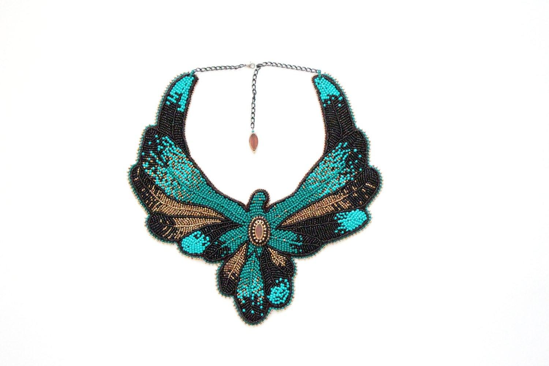 Beaded Body Jewelry  Statement big necklace collar Beaded body jewelry