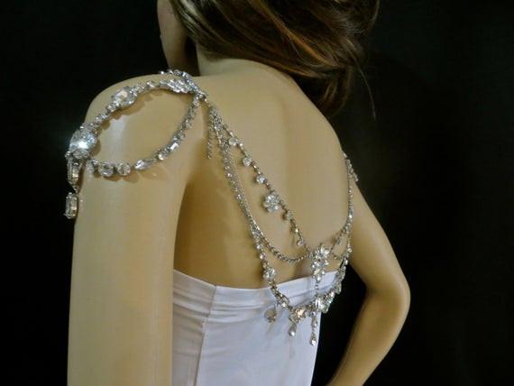 Beaded Body Jewelry  Bridal Body Jewelry Beaded Body Jewelry Beaded Chain