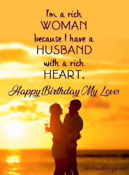 Best Birthday Wishes For Husband  100 Birthday Wishes for Husband Happy Birthday Husband