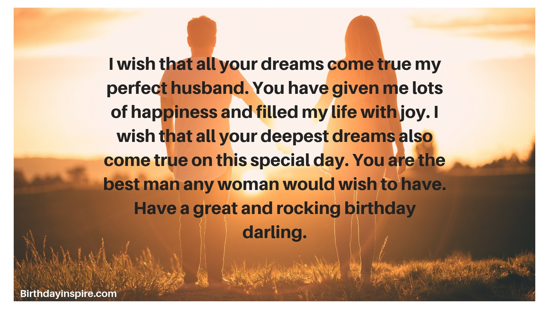 Best Birthday Wishes For Husband  53 Perfect Birthday Wishes for Husband Birthday Inspire