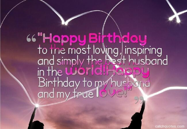 Best Birthday Wishes For Husband  Top 50 Romantic and sweet birthday wishes for husband with