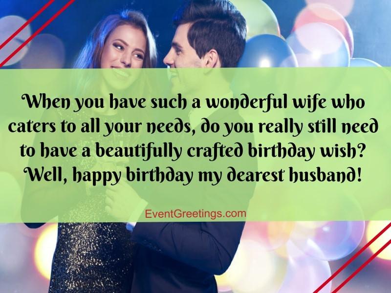 Best Birthday Wishes For Husband  50 Best Birthday Wishes For Husband Best Graces That A
