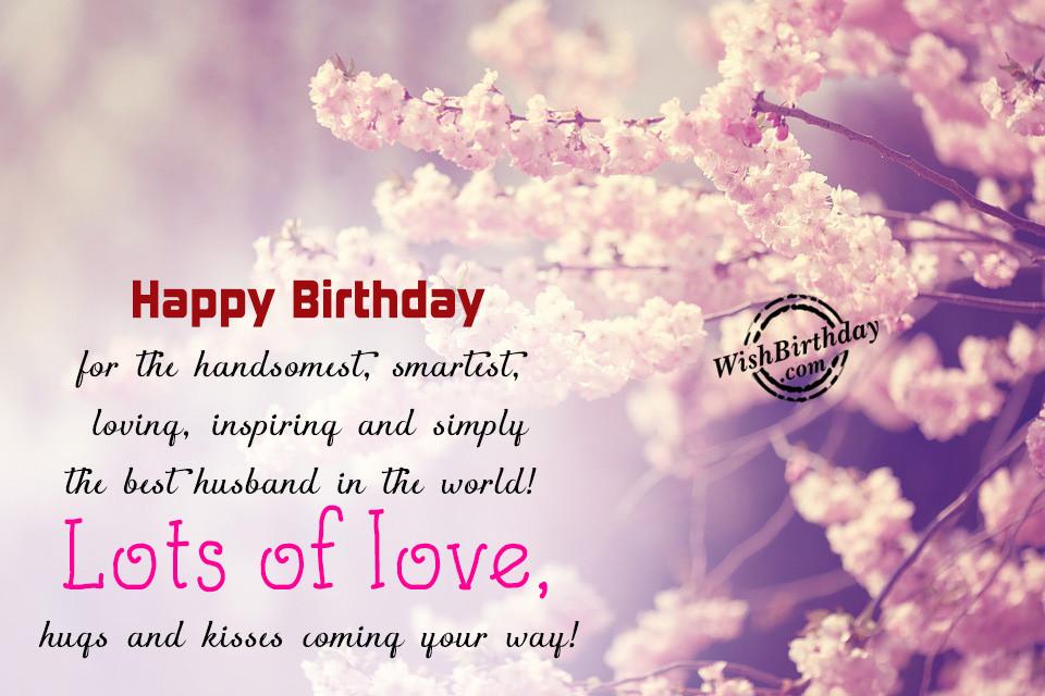 Best Birthday Wishes For Husband  Birthday Wishes For Husband Birthday