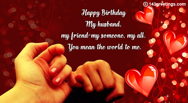 Best Birthday Wishes For Husband  The Best Birthday Messages for Husband