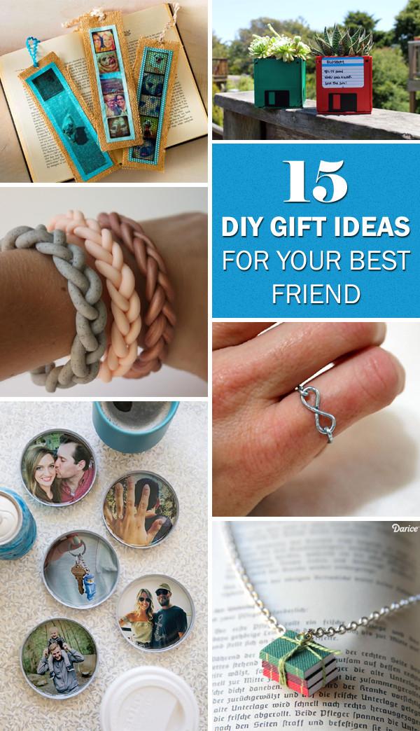 Best Friend Gift Ideas Diy  15 Delightful DIY Gift Ideas for Your Best Friend