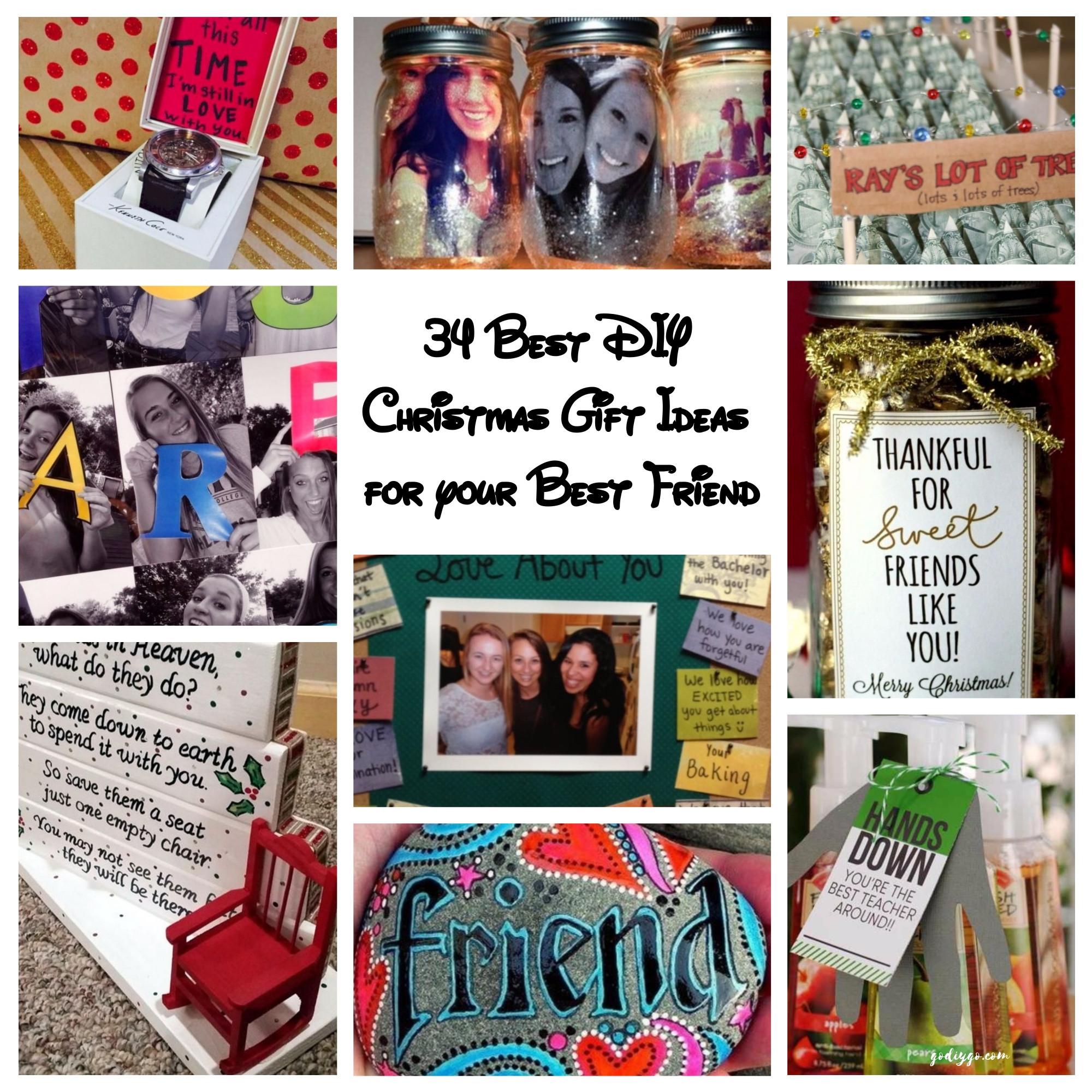 Best Friend Gift Ideas Diy  34 Best DIY Christmas Gift Ideas for your Best Friend