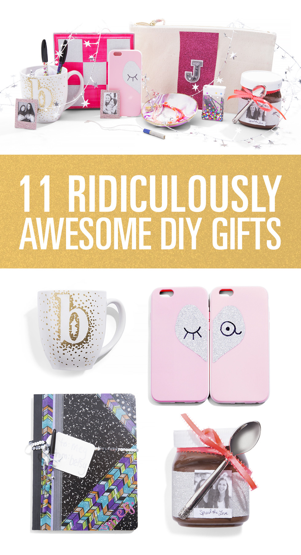 Best Friend Gift Ideas Diy  DIY Gifts For Friends DIY Gifts