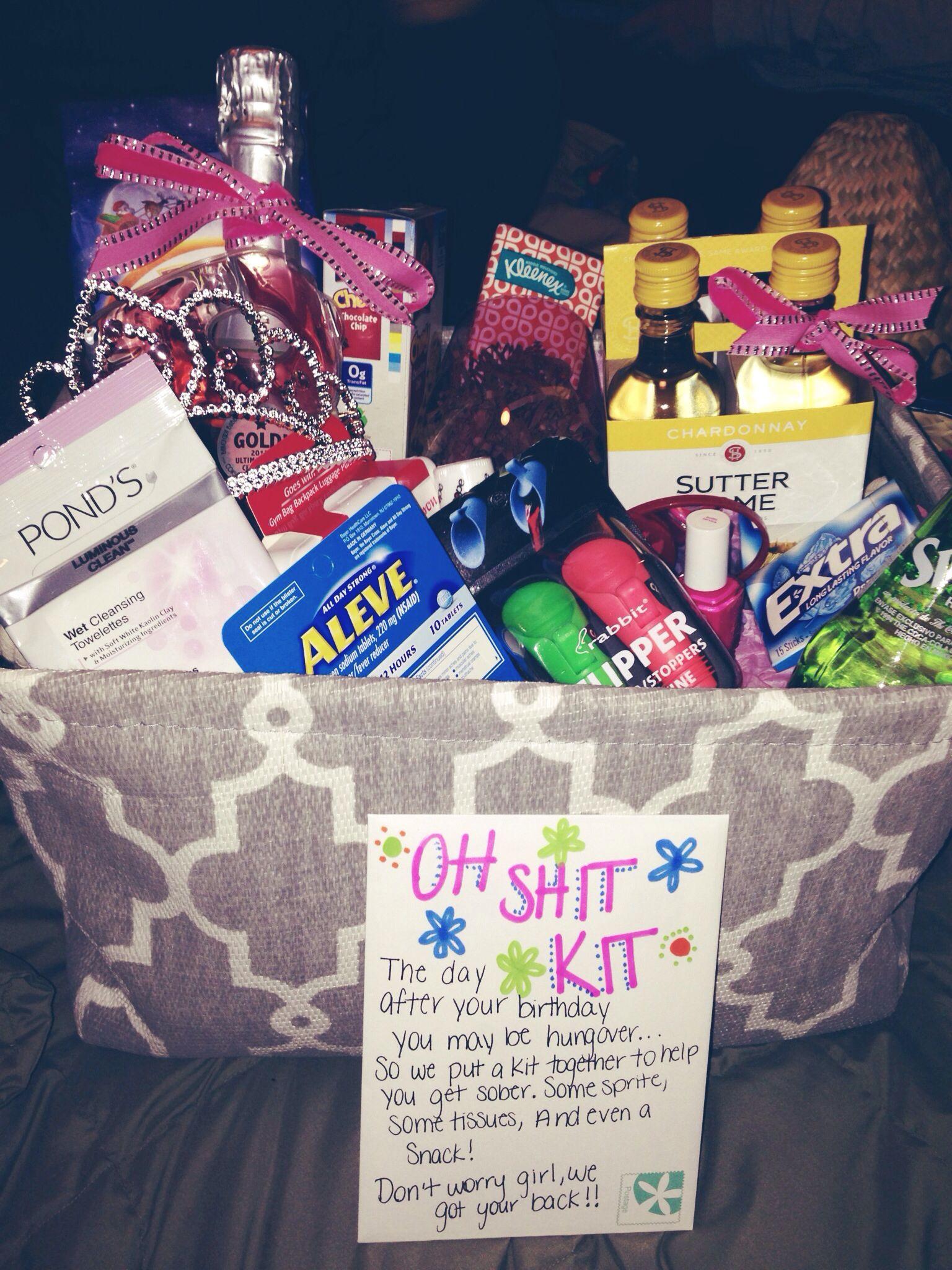Best Friend Gift Ideas Diy  what I made for my best friends 21st birthday 21 diy