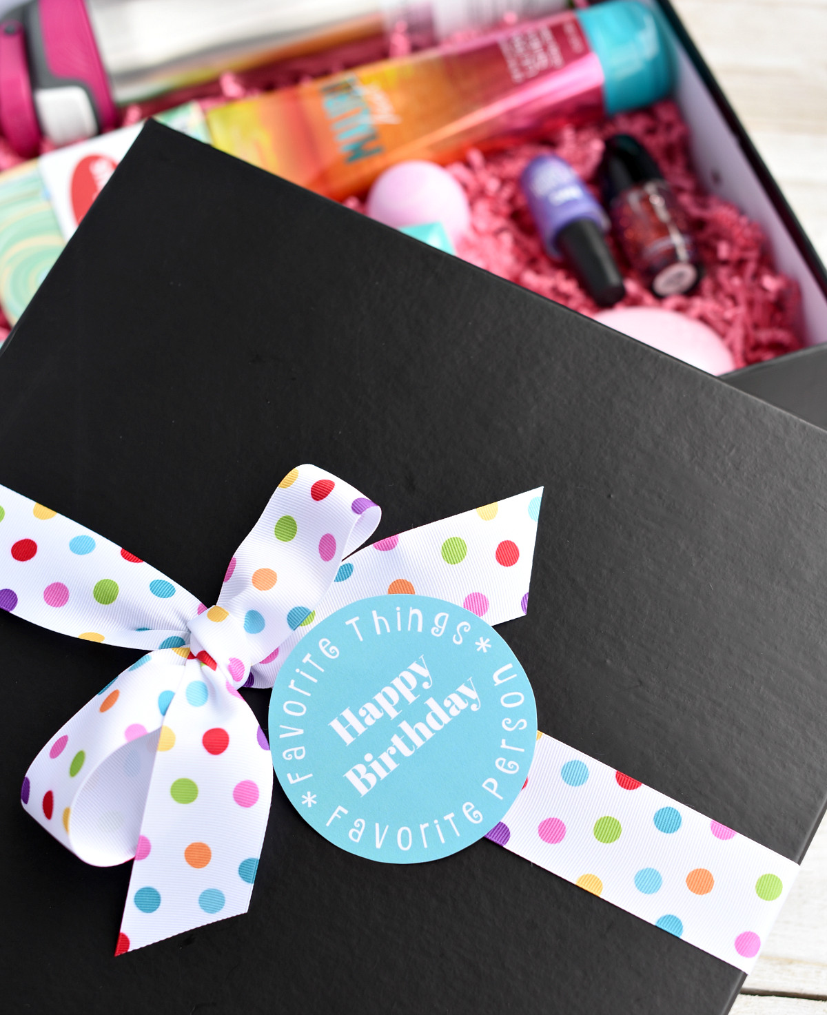 Best Friends Birthday Gifts  My Favorite Things Birthday Gifts for Your Best Friend