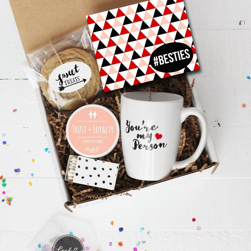 Best Friends Birthday Gifts  Besties Gift Box Best Friend Gift