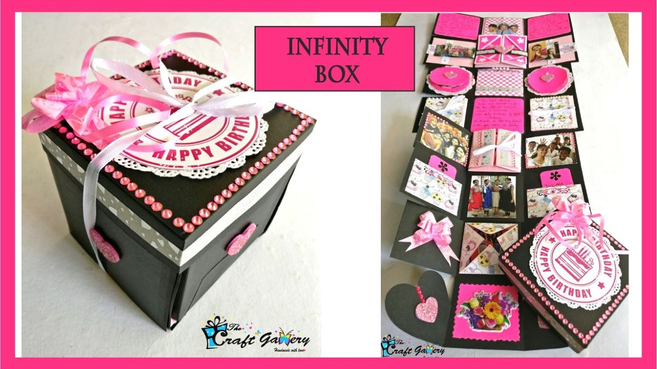 Best Friends Birthday Gifts  BIRTHDAY GIFT for a Best Friend INFINITY box