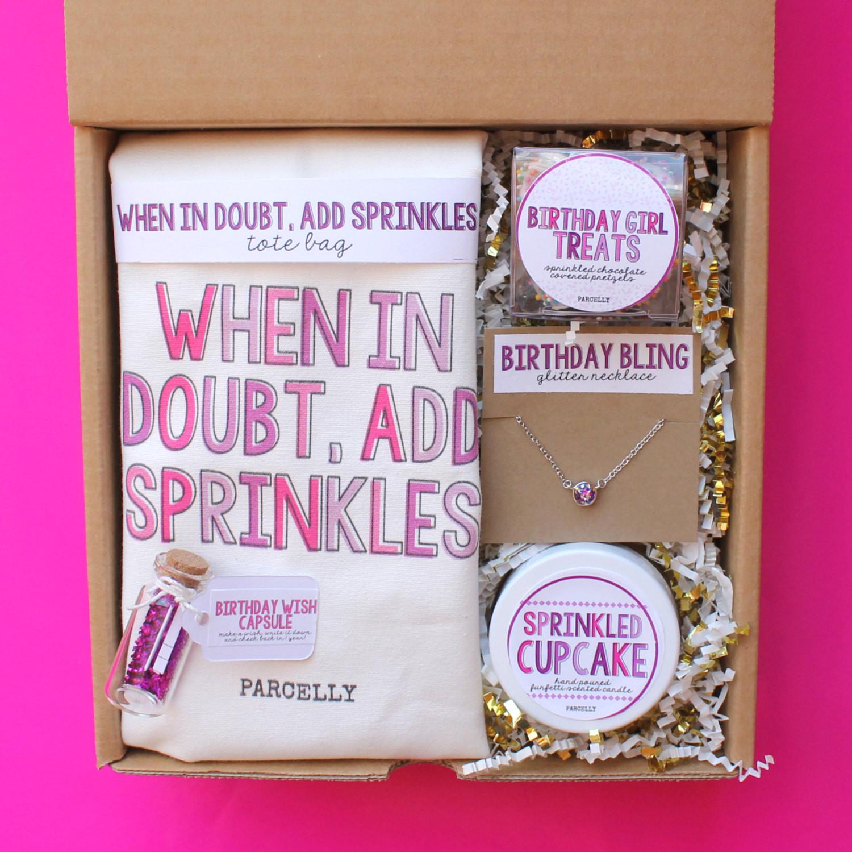 Best Friends Birthday Gifts  Best Friend Birthday Gift Birthday Gift Basket Birthday Box