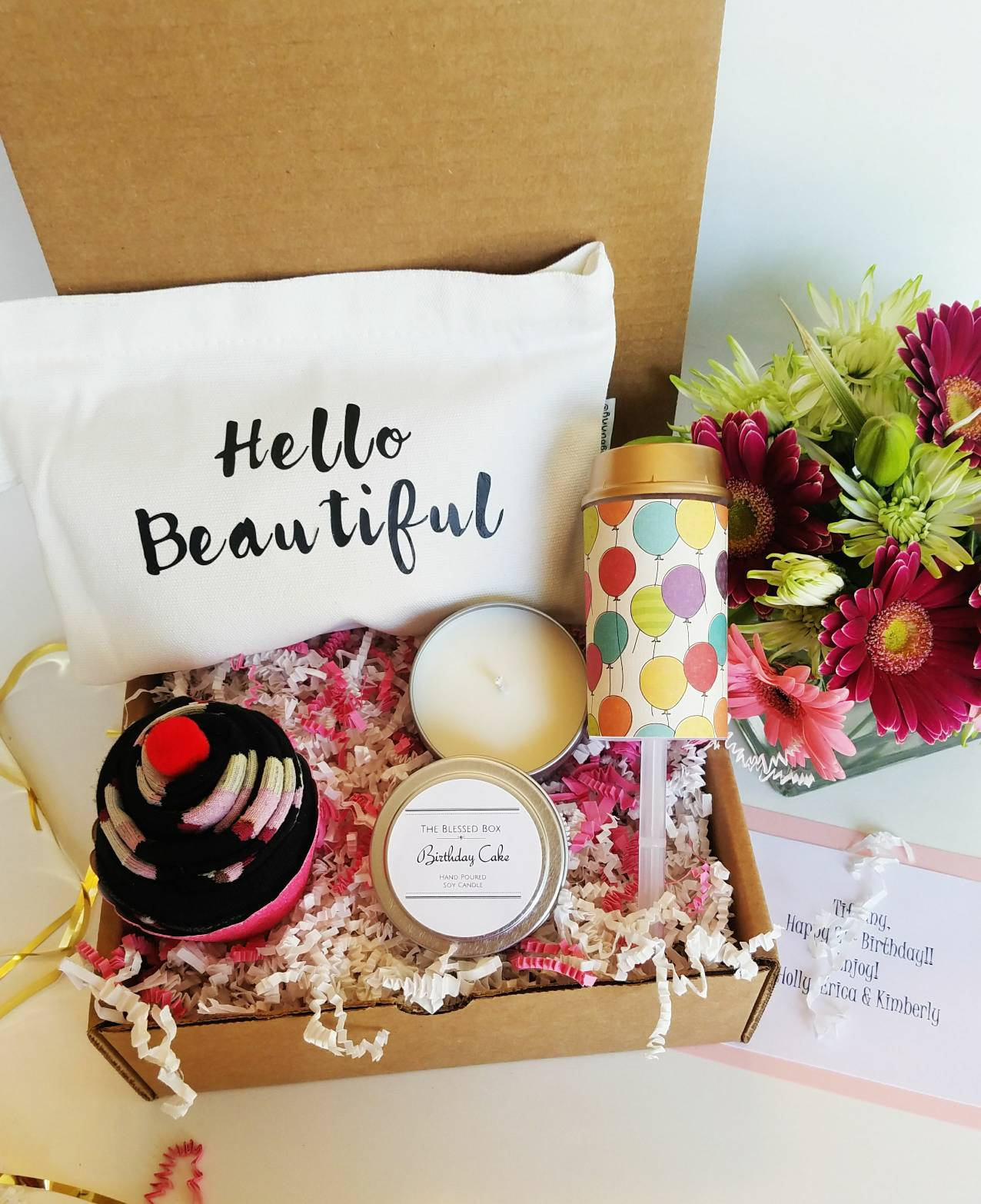 Best Friends Birthday Gifts  Birthday Gift Basket Best Friend Birthday Gift Birthday Gift