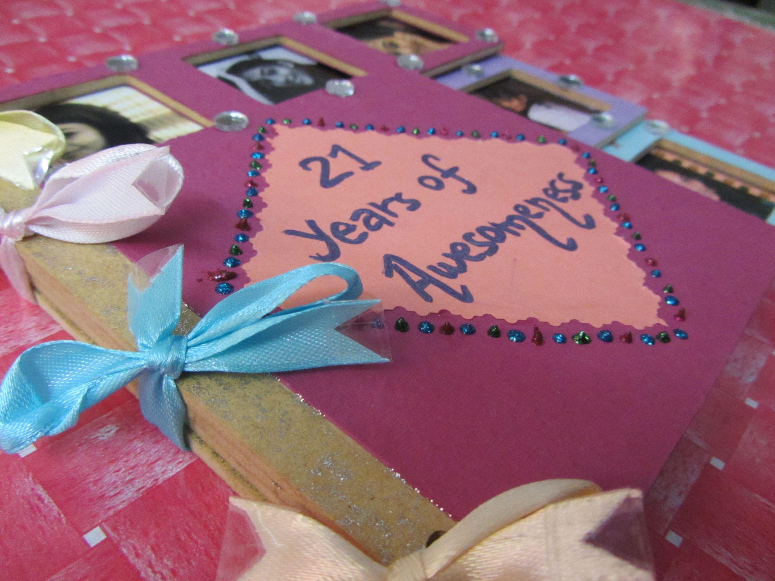 Best Friends Birthday Gifts  Scrapbook for my Best Friend's Birthday – The Artful Butterfly