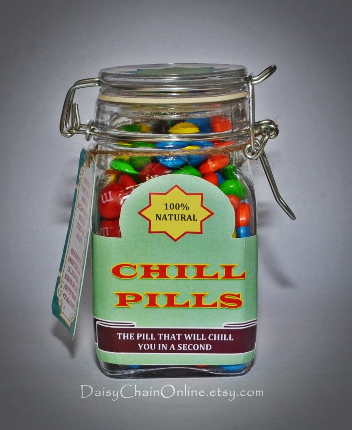 Best Gag Gift Ideas  Best Gag Gift Chill Pill Funny Gift for by DaisyChain line