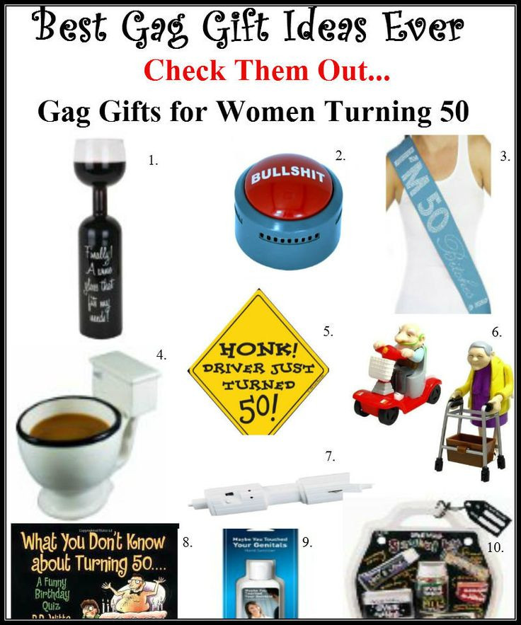 Best Gag Gift Ideas  The best gag ts for women turning 50 It will be the