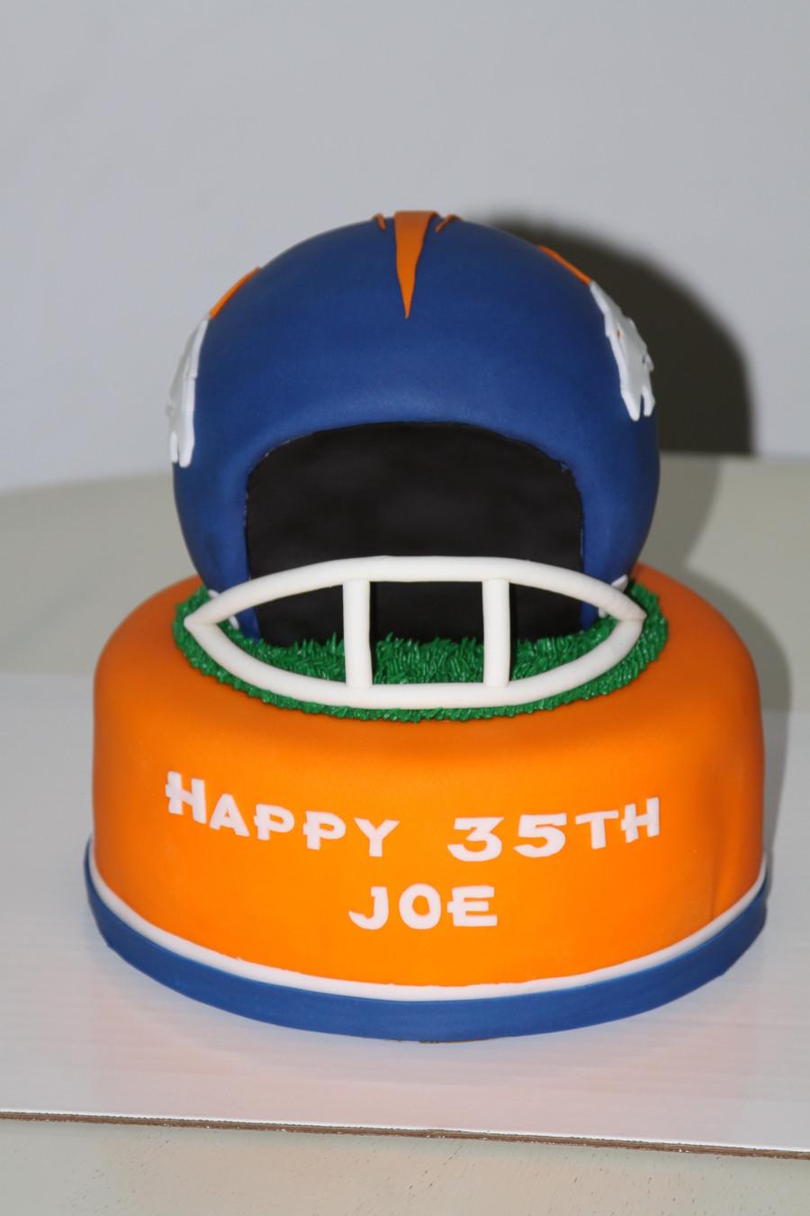 Birthday Cakes Denver  Denver Broncos Birthday Cake CakeCentral