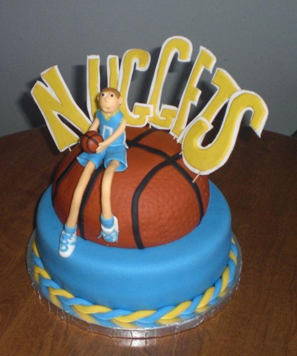 Birthday Cakes Denver  Very creative Denver Nug s cake