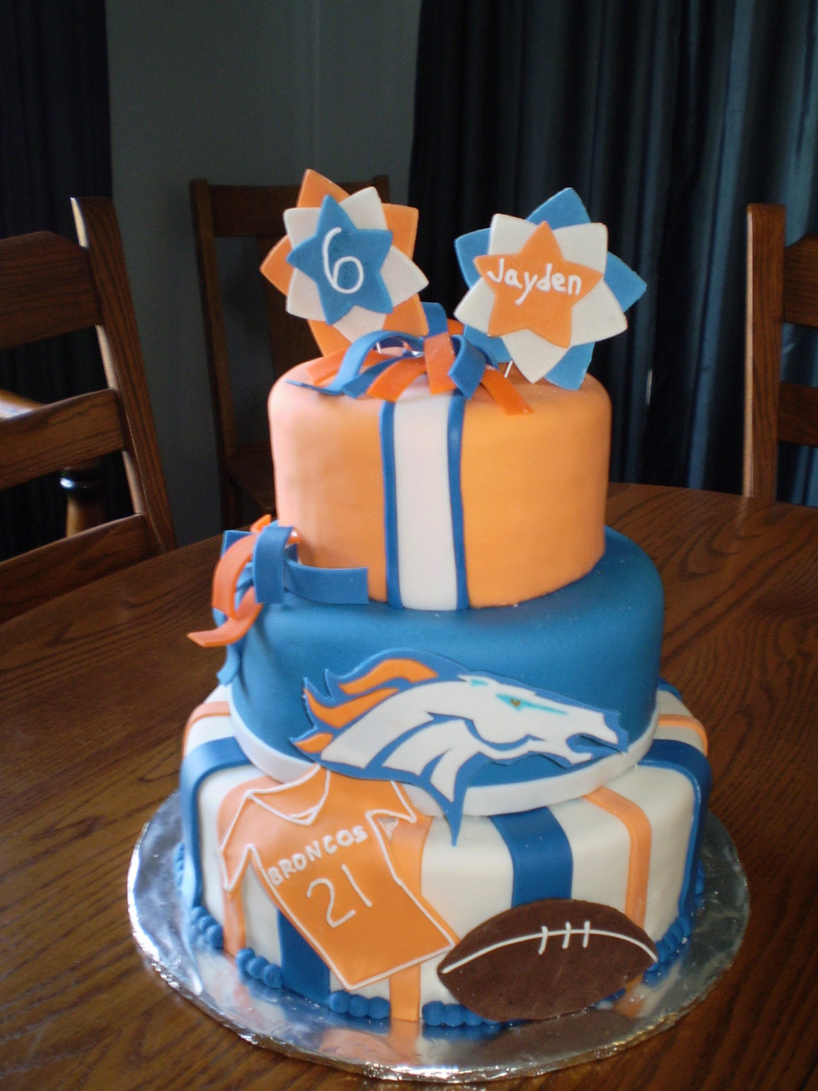 Birthday Cakes Denver  Denver Broncos CakeCentral