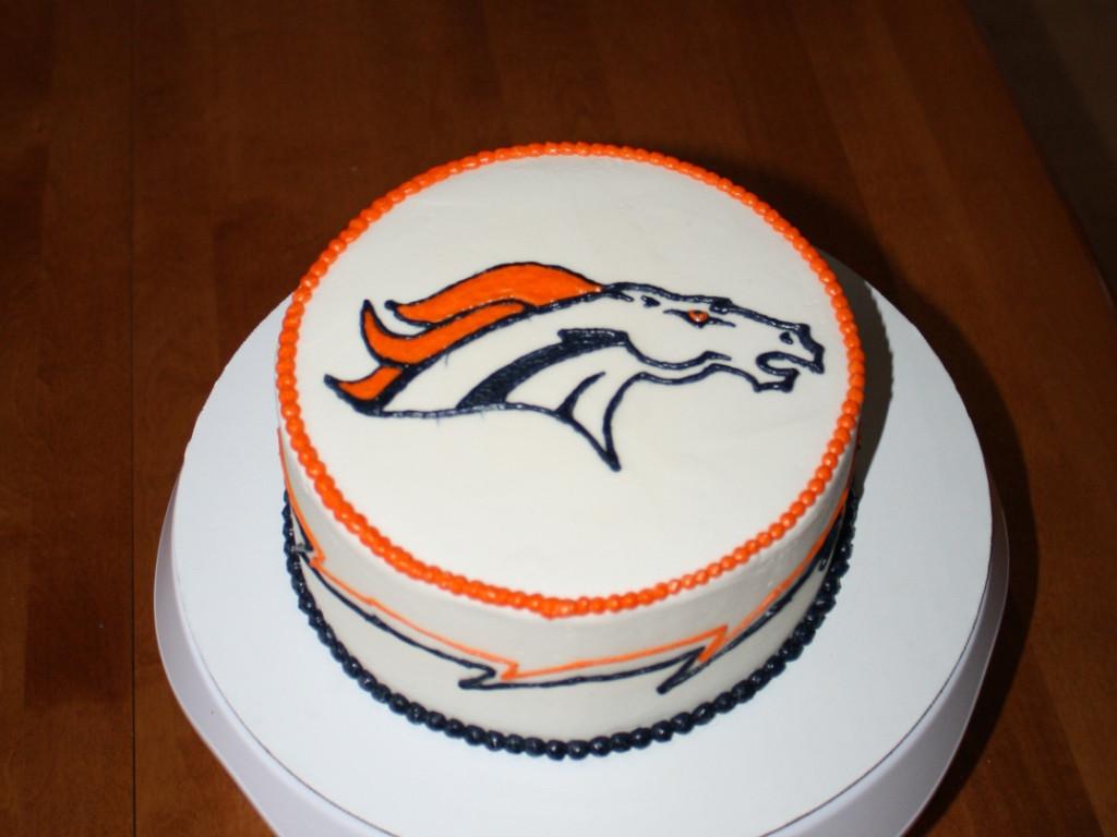 Birthday Cakes Denver  Party Cakes Denver Broncos Birthday Cake