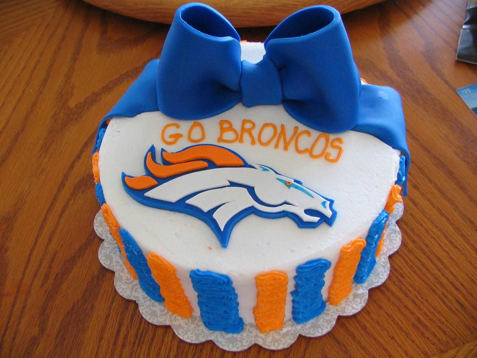 Birthday Cakes Denver  Piped Dreams Broncos Cake