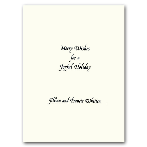Birthday Card Text  Christmas Text Ornament Holiday Greeting Cards