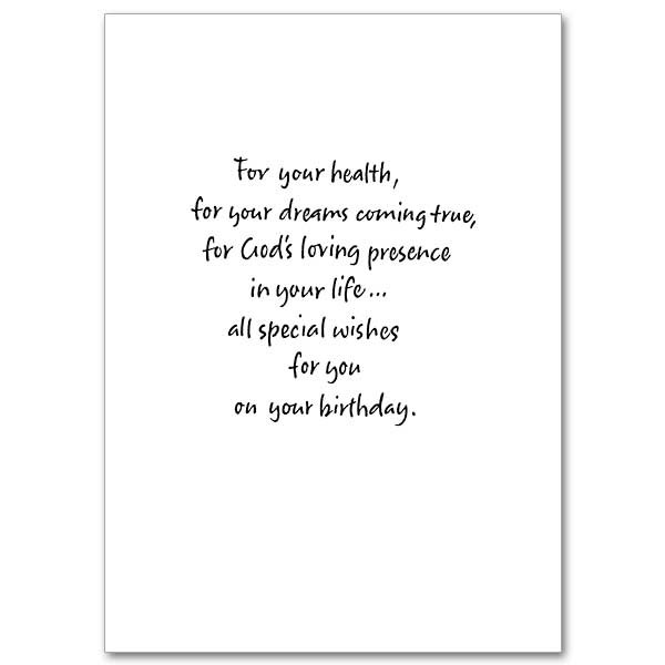 Birthday Card Text  Here s To Your Birthday Birthday Card