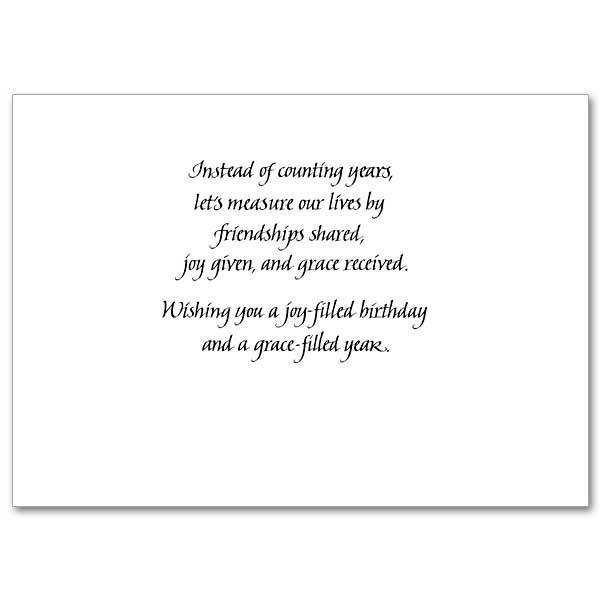 Birthday Card Text  Birthday Blessings Birthday Card