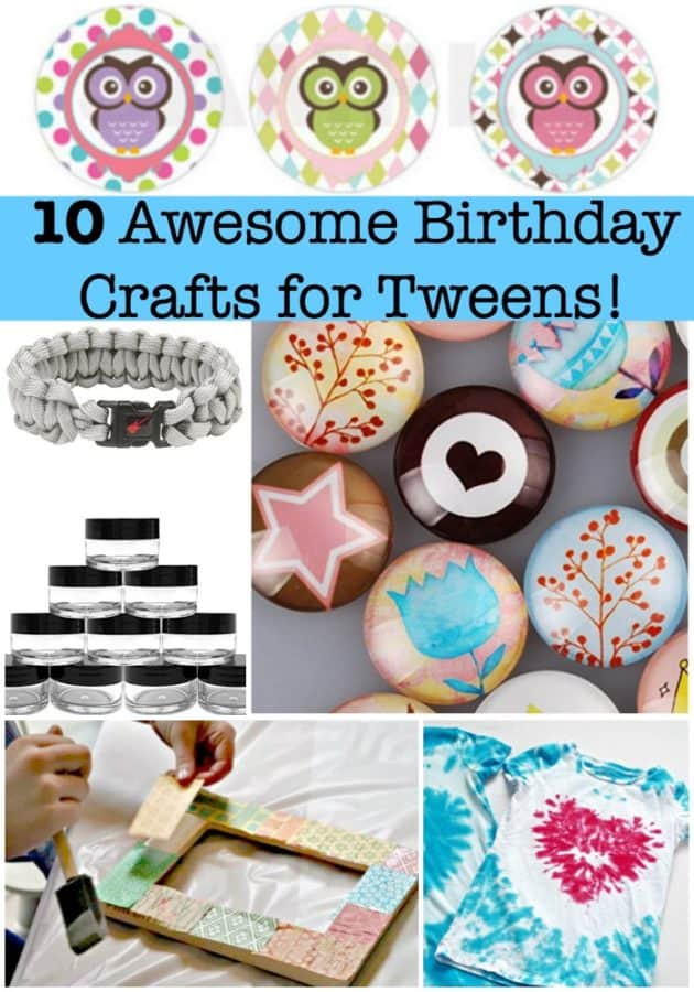 Birthday Party Crafts  10 Awesome Birthday Party Crafts for Tweens Mom 6