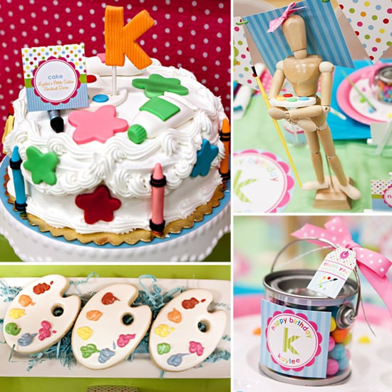 Birthday Party Crafts  Arts and Crafts Kids Birthday Party