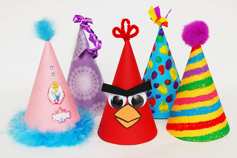 Birthday Party Crafts  Birthday Hat Kids Crafts