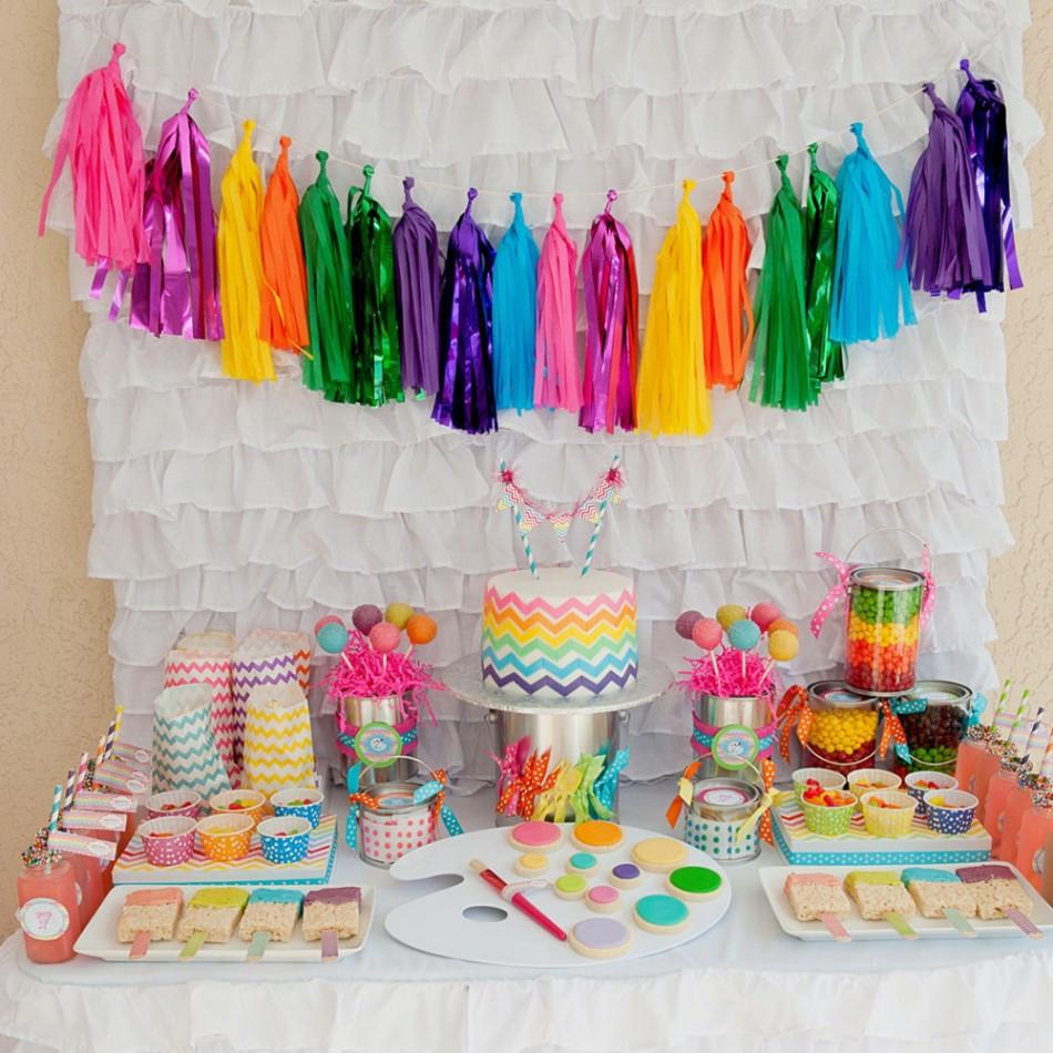 Birthday Party Crafts  Birthday Party Themes Art Themed Birthday Party