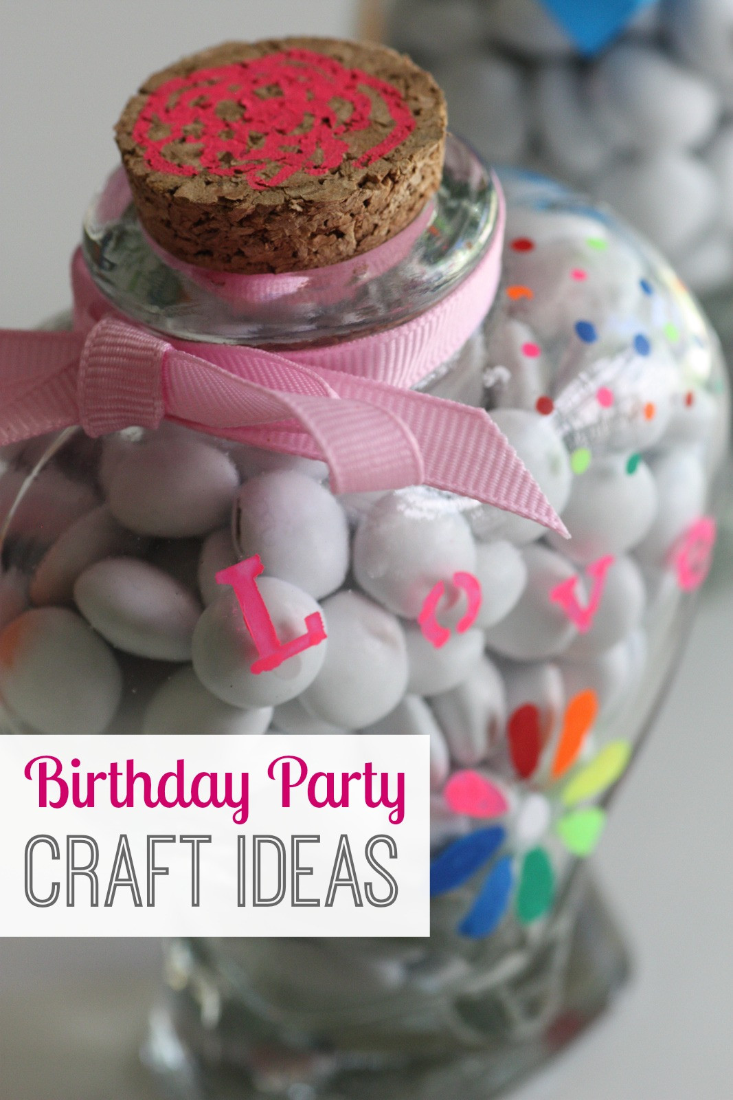 Birthday Party Crafts  Easy Birthday Party Craft Ideas