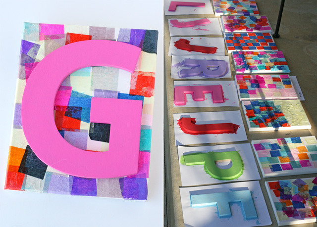 Birthday Party Crafts  Rainbow Art Birthday Party – Glorious Treats