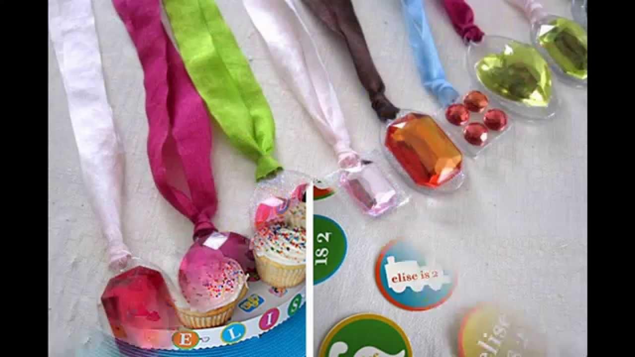 Birthday Party Crafts  Easy and Simple DIY Craft ideas for kids birthday party
